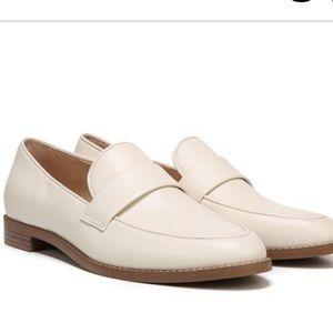 Franco Sarto Hudley Loafer Flats in Ivory Cream